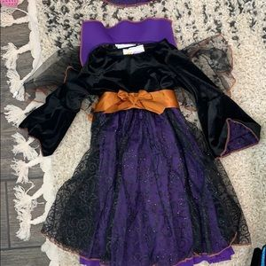 Witch costume toddler 3-4
